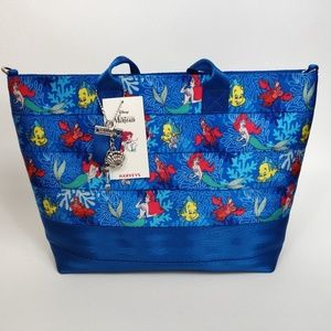 Harveys Disney The Little Mermaid Tote Bag Purse